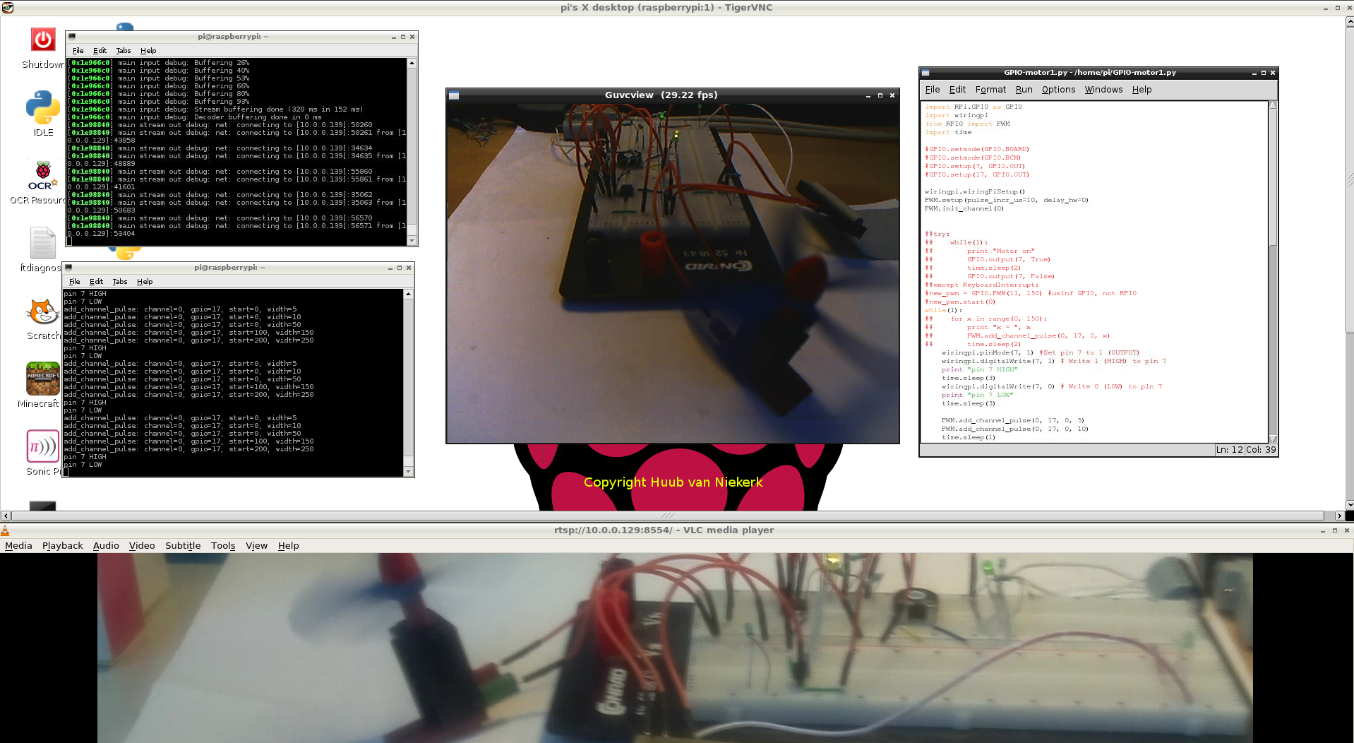 Raspberrypi 1 Import Wiringpi Error 12 May Servo Cameras Hardware Setup Click The Image To Watch Video See Also Blog